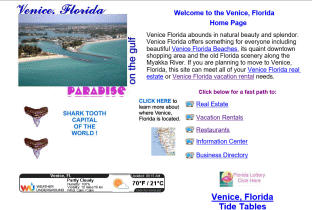 Venice web design and hosting